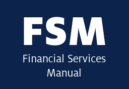 Financial Services Manual